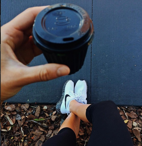 Small coffee before training