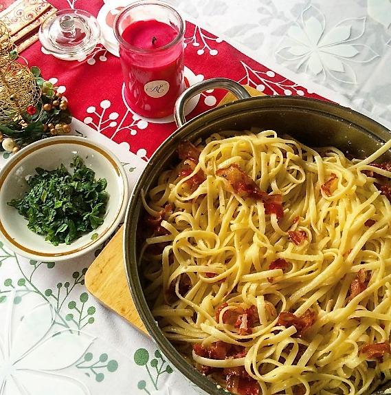 Big bowl of pasta