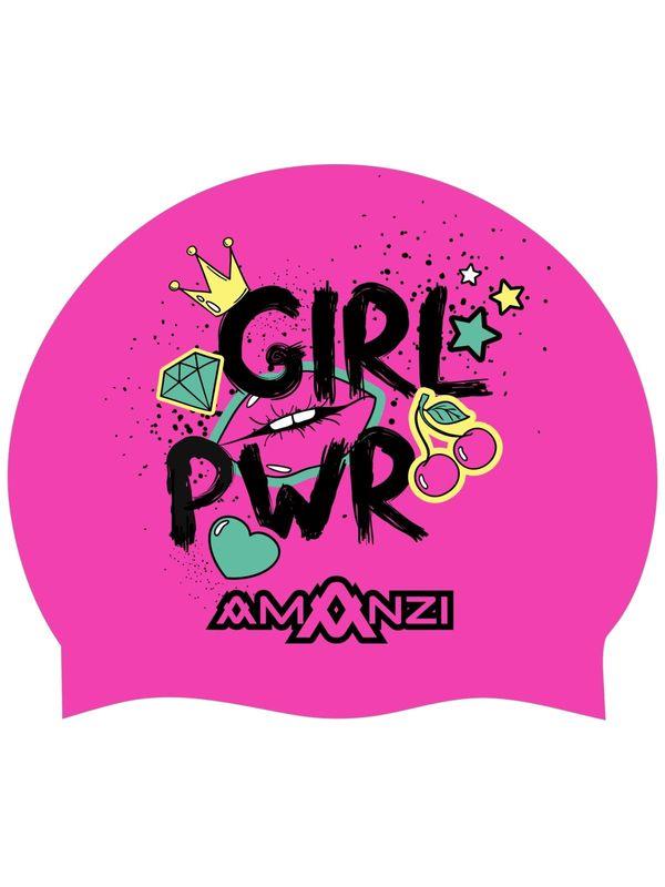 Girl Power Swim Cap
