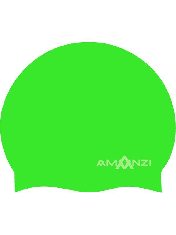 Signature Neon Green Swim Cap