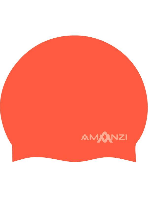 Signature Neon Orange Swim Cap