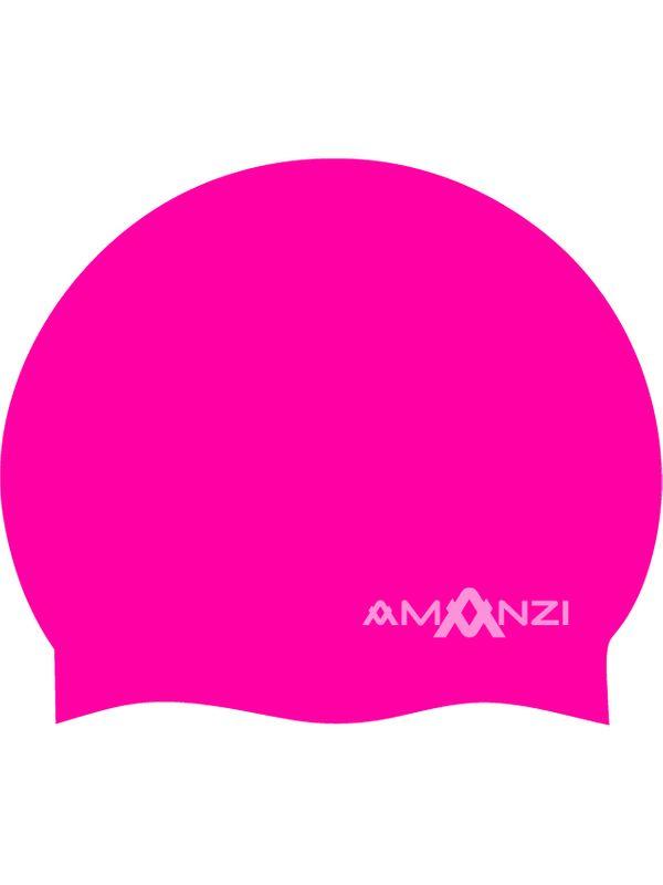 Signature Neon Pink Swim Cap