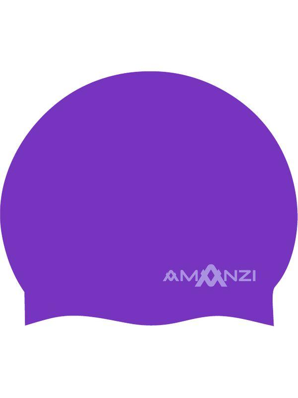 Signature Purple Swim Cap