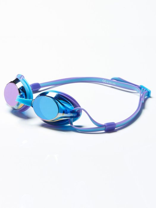 Amanzi Axion Prismatic Aqua & Purple Mirrored Lens Goggles