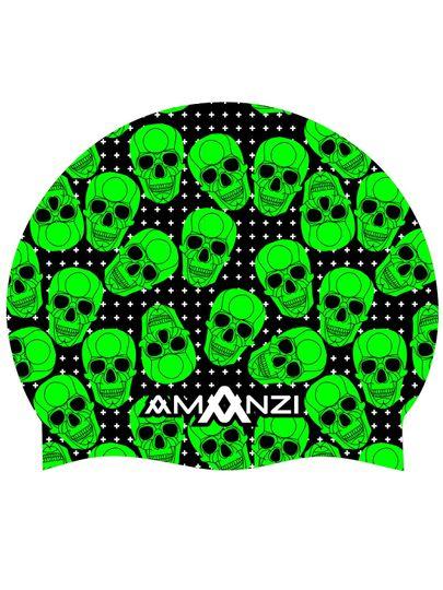 Amanzi Bone Yard Swim Cap