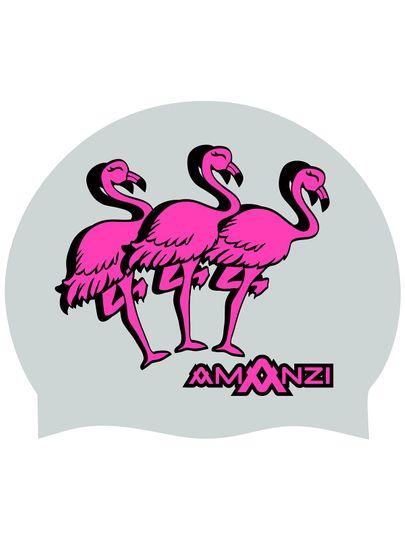 Amanzi FLAMINGLE SWIM CAP