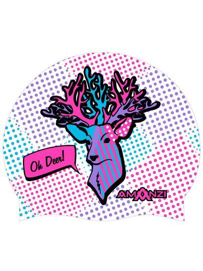 Amanzi Oh Deer Swim Cap