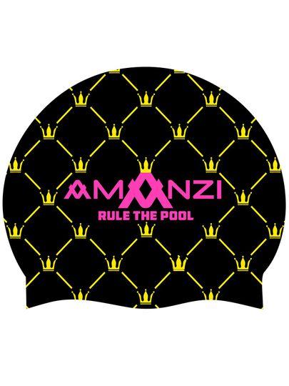 Amanzi RULE THE POOL SWIM CAP