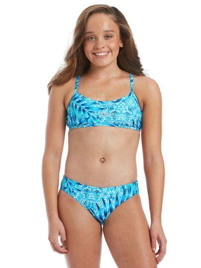 Amanzi Santorini Girls Sports Bikini