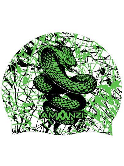 Amanzi Serpent Swim Cap