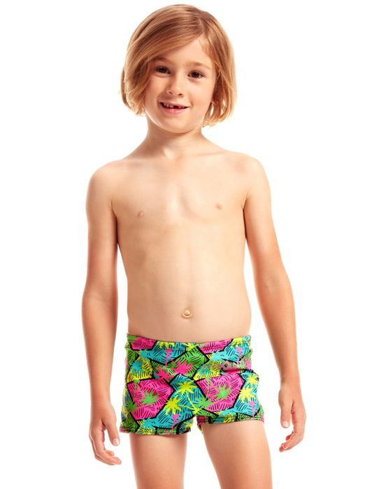 Amanzi Toddler Boys Jamaican Me Crazy Trunks
