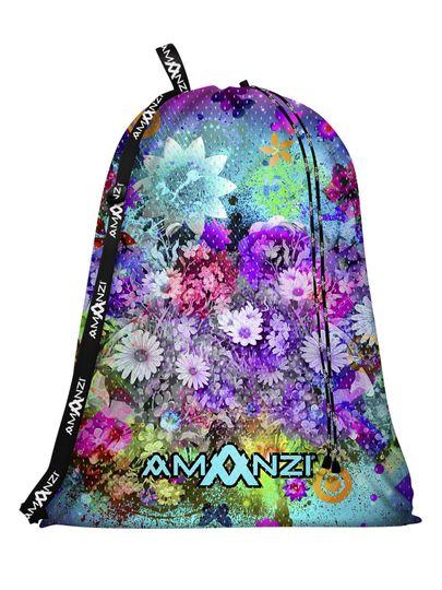 Amanzi Whimsical Wildflowers Mesh Bag